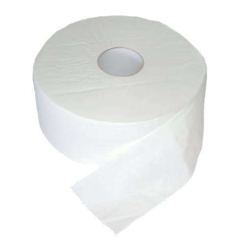 Papier toilette rouleau géant blanc 2 plis 400m prédécoupé 9 x 17,5 cm photo du produit