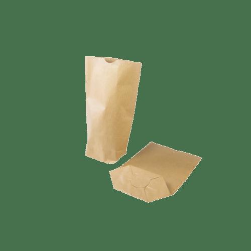 Sac papier écorné 160 x 265 mm kraft photo du produit