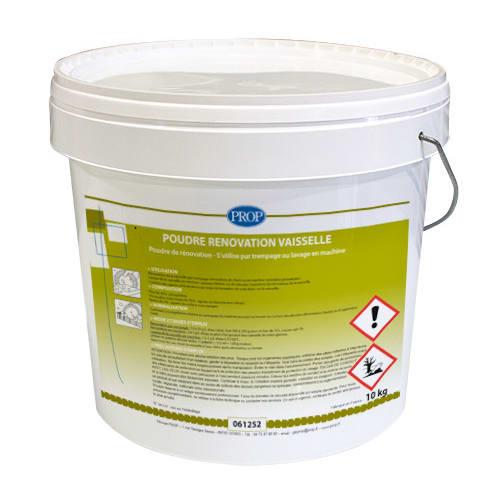 PROP Poudre rénovation vaisselle seau de 10kg photo du produit