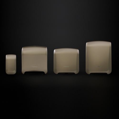 Distributeur d essuie-mains rouleaux Paredis Elite Roll photo du produit Back View L