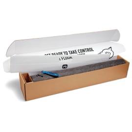 Kit de démarrage tapis absorbant et adhésif en rouleau PIG® Grippy® gris double épaisseur photo du produit