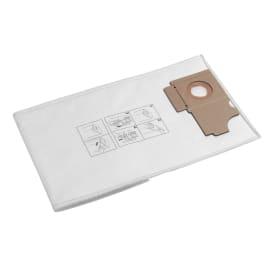 Sac filtrant non tissé papier toison indéchirable pour aspiro-brosseurs Karcher photo du produit