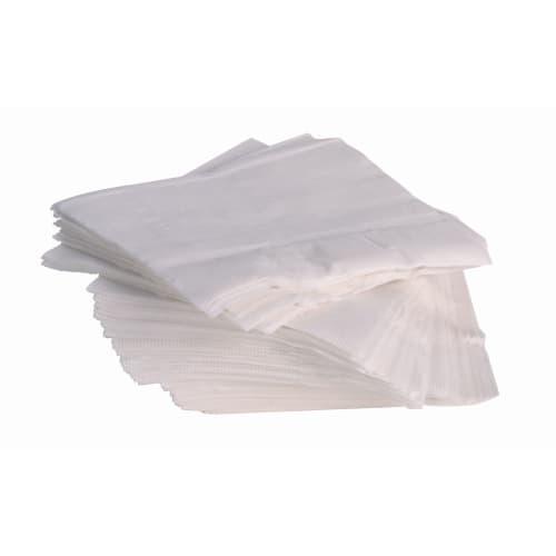 Serviette papier 2 plis 30 x 30 cm blanc certifiée Ecolabel photo du produit