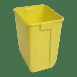 Fût pour déchets d activités de soins à risques infectieux DASRI 50L VAT5 photo du produit