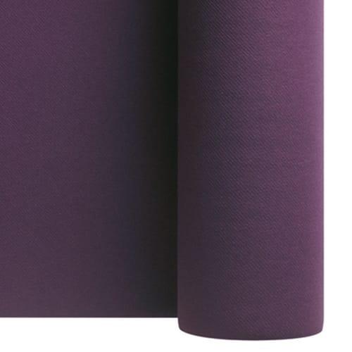 Nappe de table non tissé Célisoft 1,20 x 50 m aubergine photo du produit