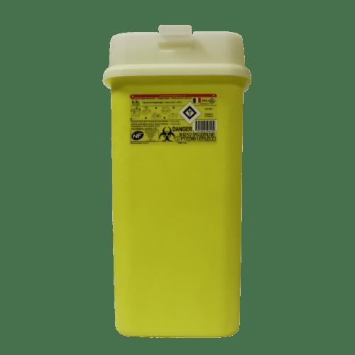 Collecteur boîte à aiguilles DASRI 6,5L Essentia+ NF X photo du produit