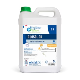 Duosol 2D pamplemousse détergent désodorisant bidon de 5L photo du produit