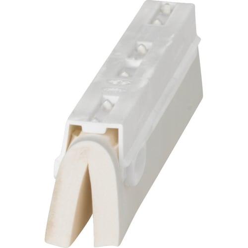Cassette de rechange pour raclette mousse PLP 25cm blanc photo du produit Back View L