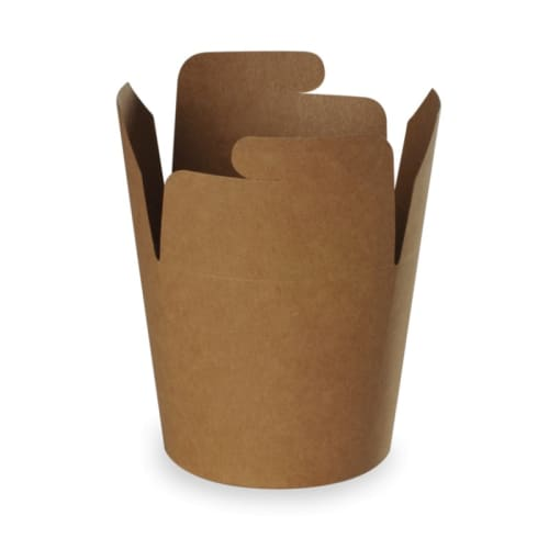 Boîte à pâtes carton 780 ml kraft photo du produit