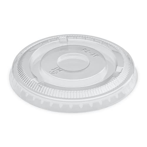 Couvercle pour pot à sauce évasé Ø78mm transparent photo du produit
