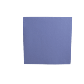 Serpillère aiguilletée bleu 70 x 70 cm photo du produit