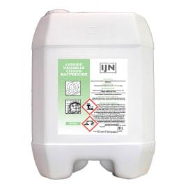 IJN liquide vaisselle citron désinfectant bidon de 20L photo du produit