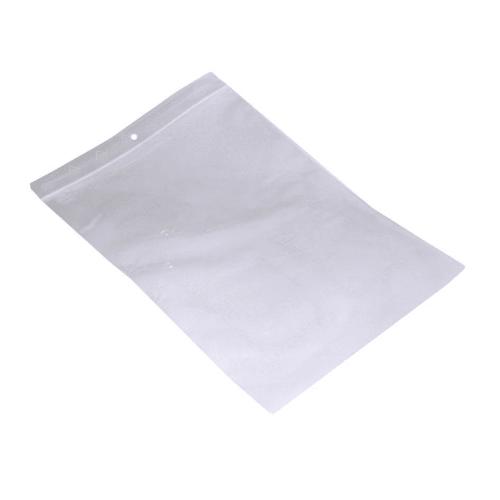 Sac plastique zip lock 180 x 250mm transparent 50µm photo du produit