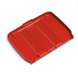 Couvercle pour support sac 120L PLP rouge photo du produit
