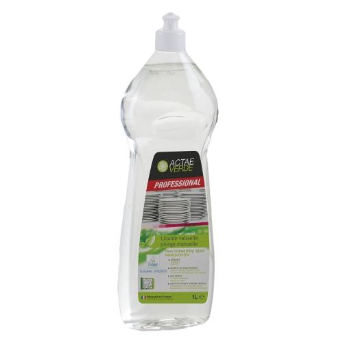 Actae Verde liquide vaisselle plonge manuelle certifié Ecolabel flacon de 1L photo du produit