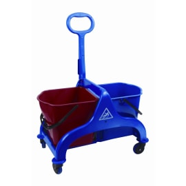 Chariot de lavage FRED sans presse avec timon latéral photo du produit