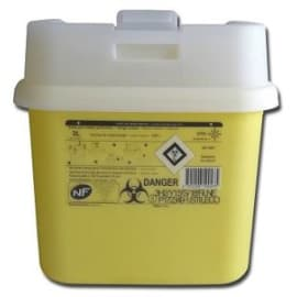 Collecteur boîte à aiguilles DASRI 3L Essentia+ NF X photo du produit