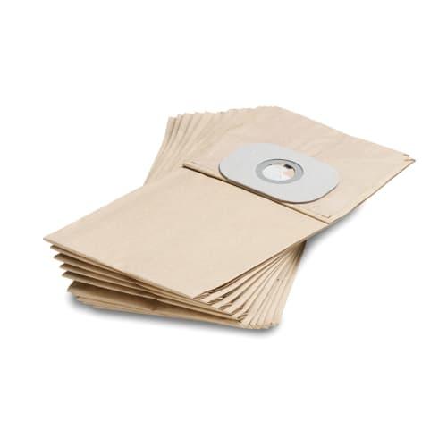 Sacs papier filtrants pour aspirateur T191 Karcher photo du produit