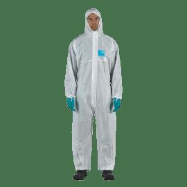 Combinaison de protection type 5-6 antistatique AlphaTec 1500 PLUS - Modèle 111 blanc taille L photo du produit