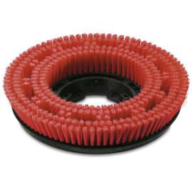 Brosse disque moyenne rouge Ø300mm pour autolaveuse Karcher photo du produit