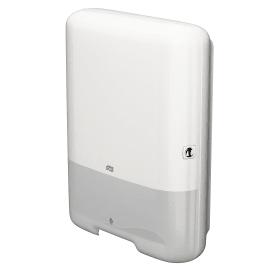 Distributeur d essuie-mains pliés blanc H3 photo du produit