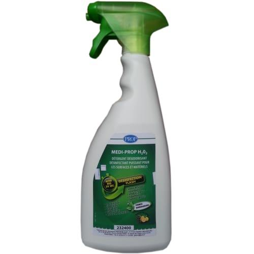 PROP Medi-Prop H2O2 détergent désinfectant pulvérisateur de 750ml photo du produit