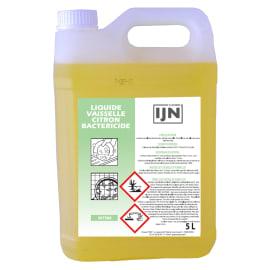 IJN liquide vaisselle citron bactéricide bidon de 5L photo du produit