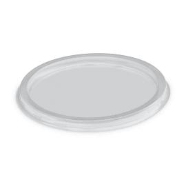 Couvercle pour pot à sauce rond O121mm transparent photo du produit