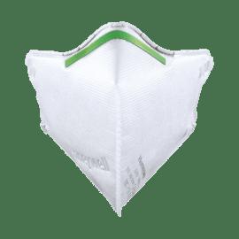 Masque de protection anti-poussières FFP2 NR D pliage vertical sans soupape photo du produit