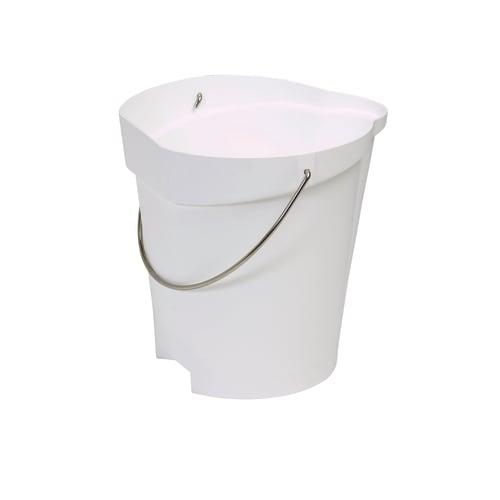 Seau gradué alimentaire PLP 12L blanc photo du produit