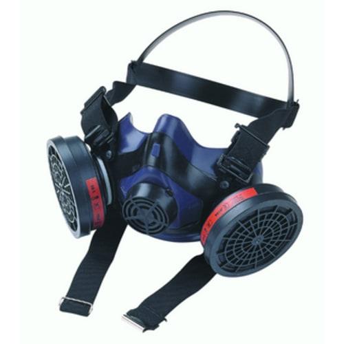 Demi-masque anti-gaz bi-filtre MX/PF 950 système cartouche Click-Fit photo du produit