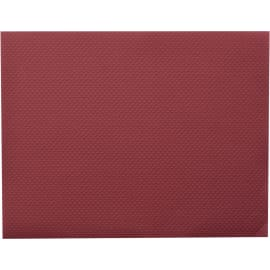 Nappe de table papier 70 x 70 cm bordeaux photo du produit