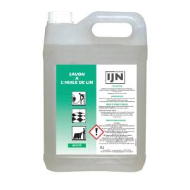 IJN savon à l huile de lin bidon de 5L photo du produit
