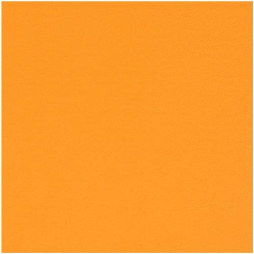 Serviette non tissé Célisoft 40 x 40 cm mandarine photo du produit
