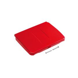 Couvercle pour support sac 150L PLP rouge photo du produit