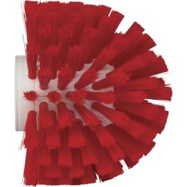 Brosse cylindrique fibres médium alimentaire PLP Ø13,5cm rouge photo du produit