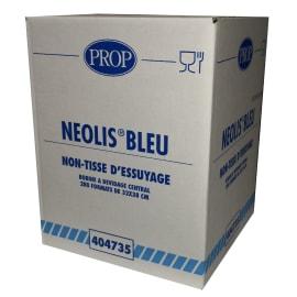 Essuyage non tissé Néolis bleu 32 x 38 cm photo du produit