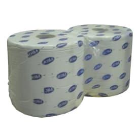 Bobine d essuyage blanche 2 plis 800 formats 23,5 x 35 cm photo du produit