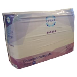 Change complet Opana violet taille XL photo du produit