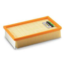 Filtre papier plat pour aspirateurs eau et poussière et balayeuse Karcher photo du produit