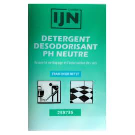 IJN détergent désodorisant neutre fraicheur nette doses de 20ml photo du produit