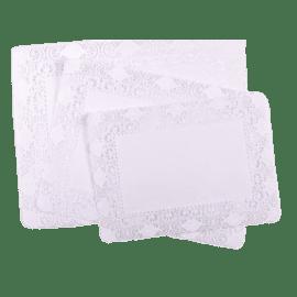 Set de table papier 30 x 40 cm blanc photo du produit
