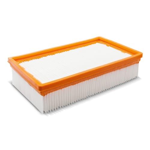 Filtre PES plat pour aspirateurs eau et poussière Karcher photo du produit