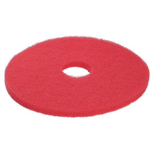 Disque basic rouge 3M pour autolaveuse et monobrosse Ø406mm photo du produit
