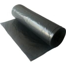 Sac plastique PE BD 200L noir 65µm sans lien photo du produit