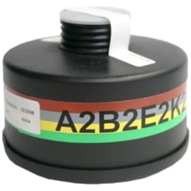 Cartouche anti-gaz A2B2E2K2 pour masque anti-gaz à système cartouche Honeywell standard RD40 photo du produit