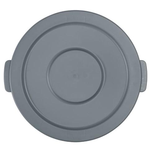 Couvercle plat pour collecteur Barella 80L gris photo du produit Back View L