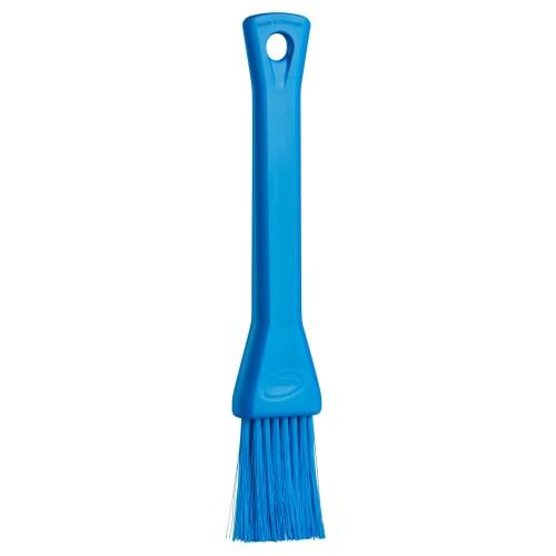 Pinceau fibres souples alimentaire PLP 3cm bleu photo du produit