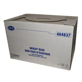 Essuyage non tissé Néolis bleu 35,5 x 42,8 cm photo du produit
