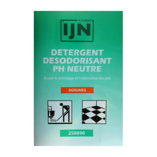 IJN détergent désodorisant neutre agrumes doses de 20ml photo du produit